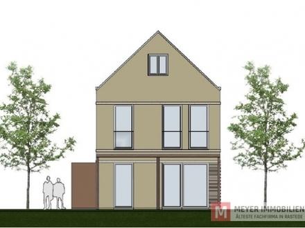 Neubau eines Einfamilienhauses in zentraler Ortskernlage in Alt-Rastede (Objekt-Nr.: 5655)