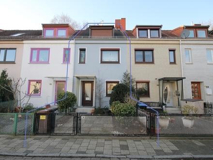 Großzügiges Reihenmittelhaus im begehrten Stadtteil Findorff