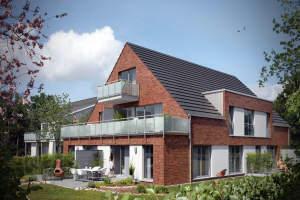2-Zimmer Dachgeschosswohnung mit Balkon in MS-Geist zu vermieten!
