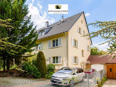 Exklusives 3-Familienhaus in Stuttgart mit Naturparadies und vielen Highlights in toller Lage