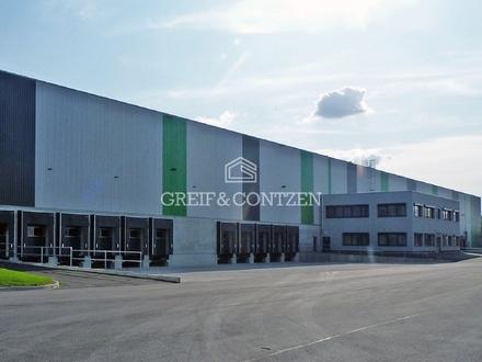 Projektierte Logistik- u. Büroflächen an der A42