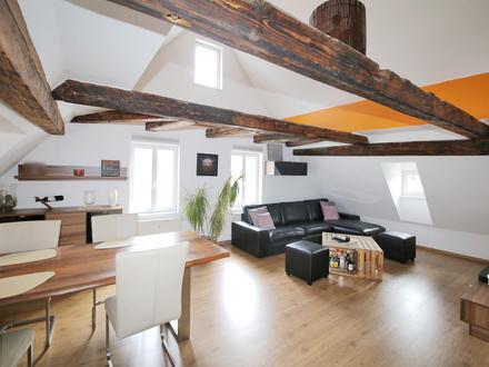 Stilvolle Dachgeschosswohnung sucht neuen Eigentümer...