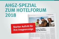 AHGZ-Spezial zum hotelforum 2018