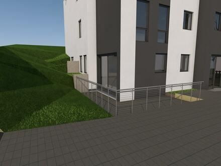 Neubau-Erdgeschosswohnung mit Terrasse in Siegen-Eiserfeld!