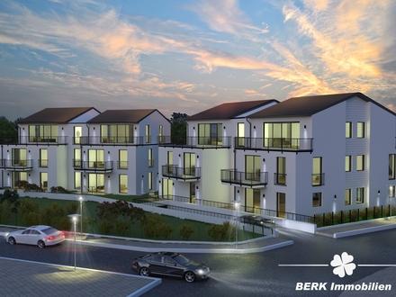 BERK Immobilien - Neubau 2-Zimmer-Erdgeschosswohnung mit Terrasse