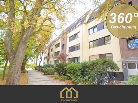 Parkallee / Aufwendig sanierte 3-Zimmer-Wohnung mit Sonnenbalkon und Tiefgaragenstellplatz