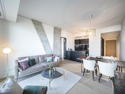 Visionäres und intelligentes Design: 2-Zimmer-Wohnung im OMNITURM