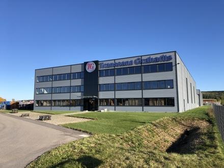 Gewerbegebiet Bad Wurzach Multifunktionale Gewerbe-/Logistikimmobilie mit bester Verkehrsanbindung