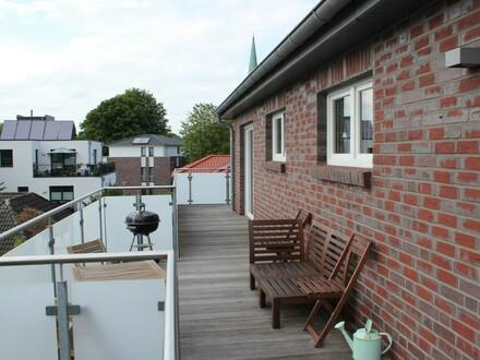 5318 - 2-Zi.-Dachgeschosswhg. mit EBK und Dachterrasse an der Tonkuhle in Eversten