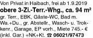 Wohnung 94m² in 63739 Haibach