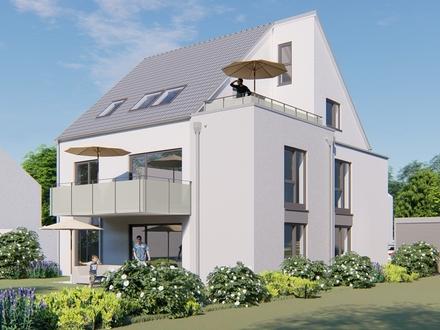 NEU !!!!! D I E moderne 2- 3 Zimmer-Dachgeschoss-Whg. + Spitzboden + Südbalkon