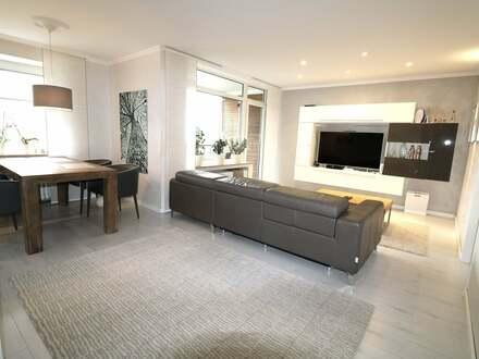 Exklusive, geräumige und modernisierte 4-Zimmer-Wohnung mit Balkon