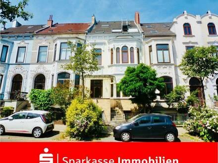 Schöne Maisonettewohnung mit Renovierungsbedarf in attraktiver Wohnlage von Bremen-Peterswerder