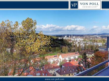Charmante Stadtwohnung mit Blick über die Dächer von Stuttgart
