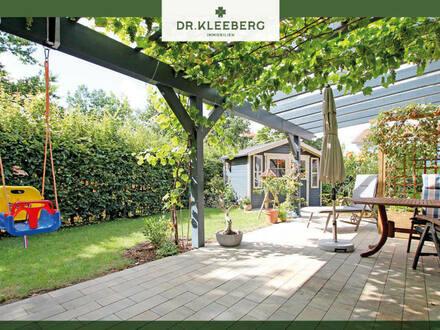 Modern & Altersgerecht – Junges Niedrigenergiehaus mit Traumgarten im Ortskern von Ladbergen