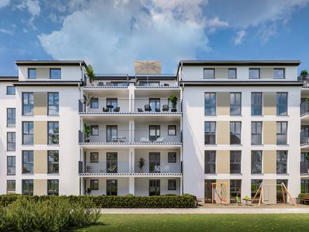 Neubau: Großzügige 3-Zimmer-Erdgeschosswohnung mit Garten