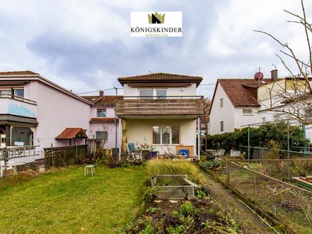 Zwei-Familien-Doppelhaushälfte mit großem Garten in ruhiger Lage von Filderstadt-Bonladen
