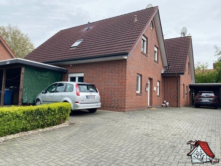 Doppelhaushälfte zentral in Ramsloh zu verkaufen! +Keine Käuferprovision+