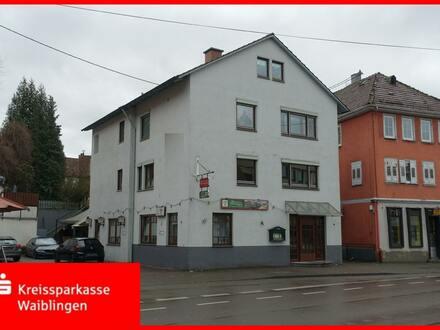 Wohn- und Geschäftshaus mit Gastronomie!
