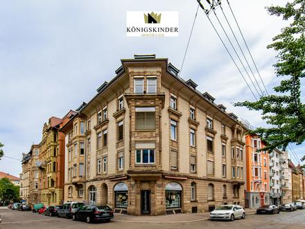 Vielseitig nutzbarer, schicker Altbau mit Charme im Stuttgarter Westen