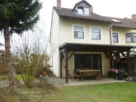 Gepflegtes Reiheneckhaus mit Terrasse und Garten, Bamberg Nähe Klinikum