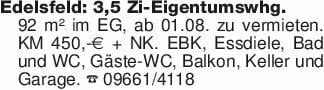 Edelsfeld: 3,5 Zi-Eigentumswhg...