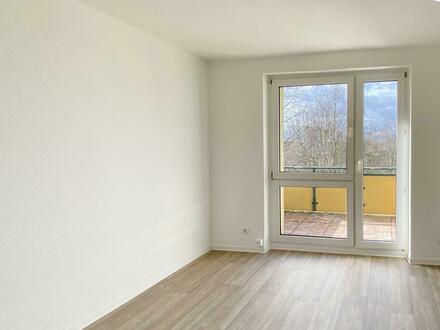 Wunderschön renovierte 2-Raum-Wohnung, auf Wunsch mit Einbauküche!