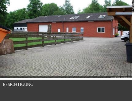 *** Großer Büro- und Wohnkomplex mit Stallungen, Weide und Lager*** in Lengede