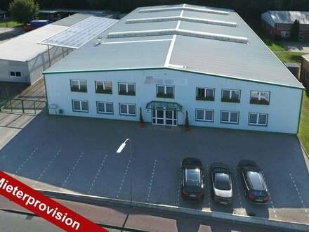 Lagerhalle und Büro in der Nähe der A1