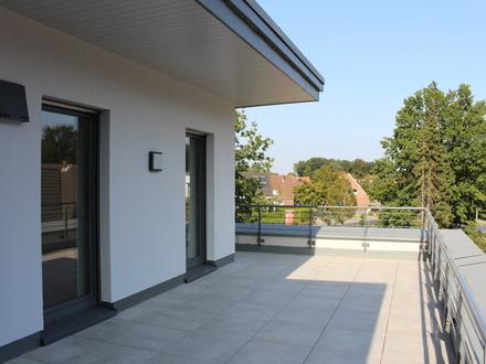 Neubau Penthouse-Dachterrassenwohnung in bester City-Lage als Erstbezug am Heimathaus uvm.