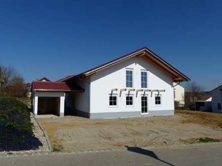EFH freistehend -Ausbauhaus oder bis Schlüsselfertig ohne Garten-