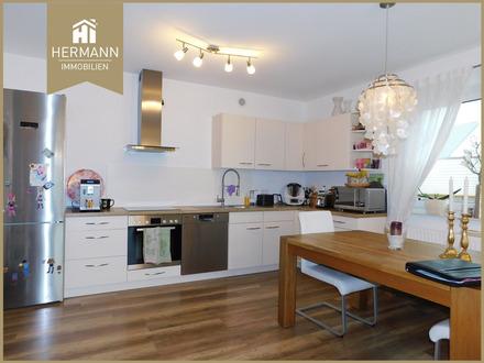 Sehr schöne 4 Zimmer-Wohnung im EG mit Gartennutzung in Erlensee!