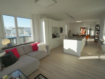 Aussichtsreiches Penthouse-Leben Style & smile im Heimvorteil!