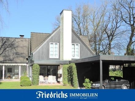 Zentral in Bad Zwischenahn! Lichtdurchflutetes Wohnhaus am Landschaftsschutzgebiet
