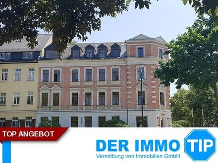 Schicke Familienwohnung mit Balkon in ruhiger Lage - Chemnitz Altendorf