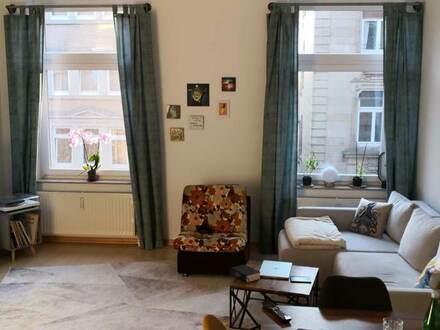 Möblierte 3-Zi-Wohnung in Stgt. West mit TG für 1 Jahr