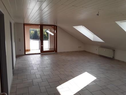 Helle 3-Zi.-DG Wohnung. Goldbach / OT Unterafferbach