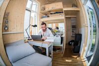 Mit Mini-Häusern Raumnot lindern