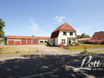 RESERVIERT +++ Modernisierungsbedürftiges Haus mit Werkstatt- und Lagergebäude! +++