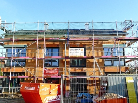 Neubau! Moderne, großzügige Doppelhaushälfte mit Bergblick