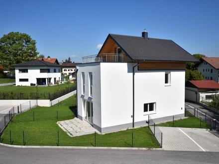 Neues Eck-Reihenhaus A3 / Bauvorhaben Freiräume Seekirchen