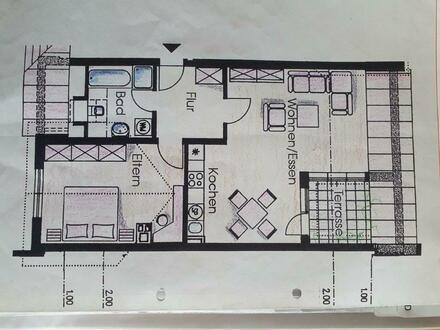 Schöne helle Dachgeschosswohnung mit Dachterasse