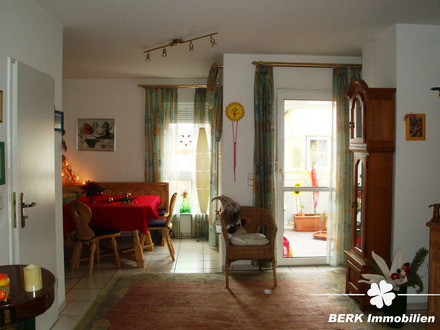 BERK Immobilien - Schöne 3-Zimmer-Wohnung in zentraler Lage von Erlenbach am Main