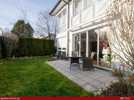 Elegante Gartenwohnung in zentraler Lage von Harlaching