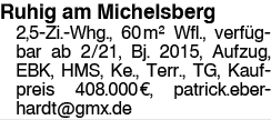Ruhig am Michelsberg