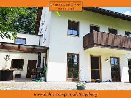 Idylle pur in Eurasburg bei Friedberg - Große Doppelhaushälfte für die ganze Familie!