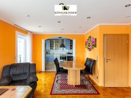 Lichterfüllte 4 Zi.-Wohnung mit Ausblick ins Grüne + Wintergarten, Garage, 2 Keller, Gartennutzung