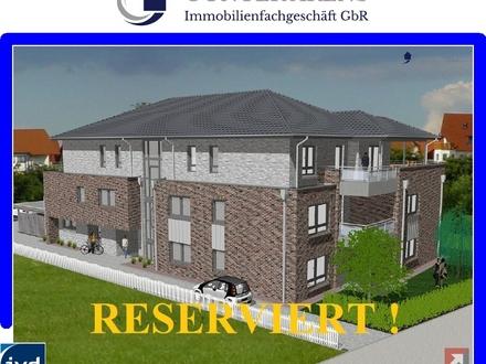 Neubau-Erstbezug! Penthousewohnung an sehr guter, bevorzugter Lage in Westerstede