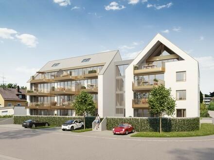 Ein Traum: Großzügige und helle Wohnung mit Galerie und großer Dachterrasse - B7