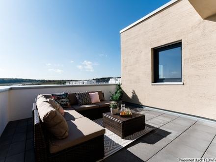 Sang ONE - Genießen Sie die Sonne auf Ihren ca. 18 m² und 10 m² großen Dachterrassen in Rosbach v. d. Höhe